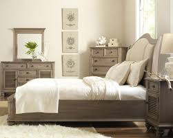 california king upholstered sleigh headboard bed with nail head
