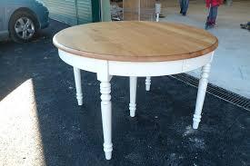 table de cuisine blanche avec rallonge table de cuisine en bois avec rallonge table de cuisine en bois