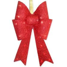 buy lighted outdoor bows from bed bath beyond
