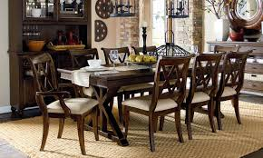 thatcher 5 piece trestle table dining set haynes furniture
