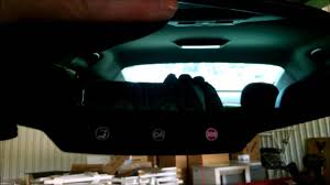 chevy malibu rearview mirror autodim youtube