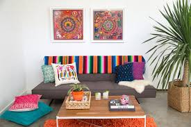 living room what colors go with burnt orange decorating with an
