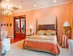 peach color paint bedroom