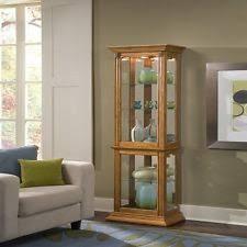 Stereo Cabinets With Glass Doors Pamari 200439 Zanica Stereo Cabinet With Glass Door Tifton Oak Ebay