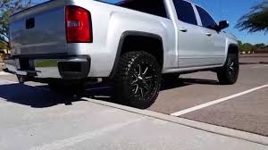 14 Inch Truck Mud Tires 2014 Gmc Sierra Rough Country Level Kit Fuel Maverick Wheels