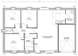 plan maison 80m2 3 chambres ordinaire plan maison 80m2 3 chambres 4 maisons pm