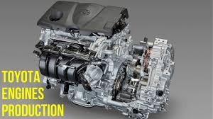 4 cylinder engine toyota 4 cylinder and 8 cylinder engines production