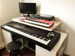 studio rack desk music u0026 dj archives ikea hackers