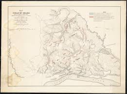 map us dc map of the field of shiloh near pittsburg landing tenn shewing