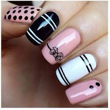 White Pink Nail 115 Acrylic Nail Designs To Fascinate Your Admirers