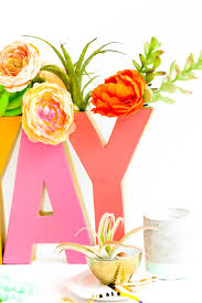 a kailo chic life diy it a typography vase