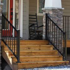metal deck railing systems aluminum iron steel decksdirect