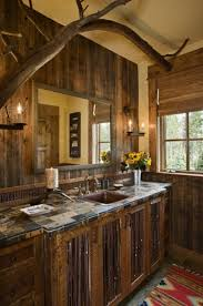 rustic bathrooms ideas creating a rural rustic bathroom style in your house wearefound