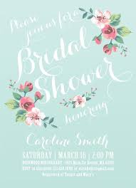 floral bridal shower invitations kawaiitheo