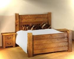 wooden bed frame king size frame decorations