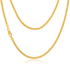 mens gold curb necklace images Mens 20 inch 9ct gold curb chain necklace 41260 newburysonline jpg