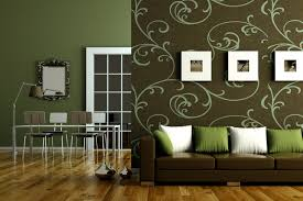 brown and green living room designs