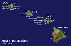 map of hawaii island tide location map current tides for hawaii tides for kauai