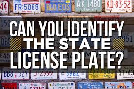 Make Your Own Vanity Plate Can You Identify A State By Just The License Plate