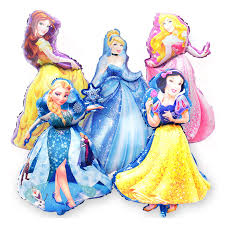 foil balloons princess foil balloons