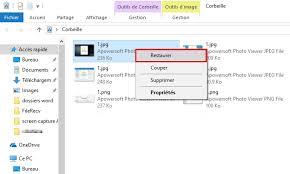 supprimer corbeille bureau comment restaurer les fichiers supprimés de la corbeille