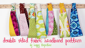 fabric headbands sided fabric headband pattern