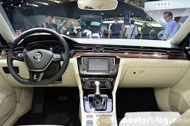 volkswagen passat 2017 interior new vw passat b8 expected in india in february 2016