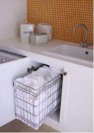 Bathroom Laundry Storage Pull Out Laundry Baskets Kitchen Storage Solutions Laundry And