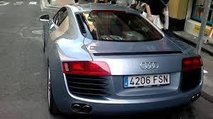Audi R8 Jet Blue - audi r8 en bilbao youtube