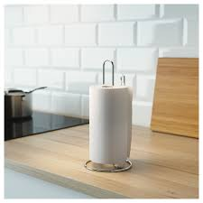 torkad kitchen roll holder silver colour ikea