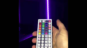 Led Whip Flags Led Glow Whip Ir Remote Instructions Youtube