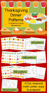 thanksgiving center 130 best math ideas patterns images on pay