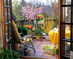 balcony in summer u2013 colorful decoration ideas for outdoor