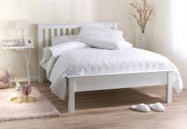 Wooden White Bed Frames 25 White Bed Frame In Various Type Size And Style Sadecor