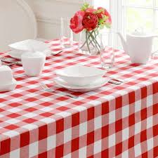 gingham check tablecloth dunelm