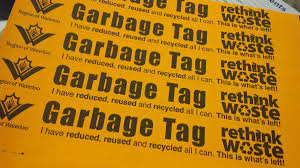 garbage collection kitchener region of waterloo garbage bag tags will be sold at community