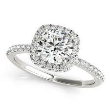 diamond rings square images Diamond engagement rings in white gold 14k 18k jpg