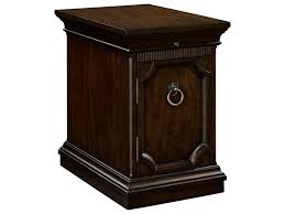 broyhill end table with usb broyhill furniture new charleston 4549 004 traditional chairside