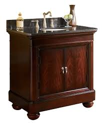 Bathroom Vanity Granite Countertop Mount Vernon 36 Inch Antique Bathroom Vanity Black Granite Or