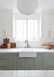 Green Kitchen Sink by Green Kitchens Claire Brody Designs