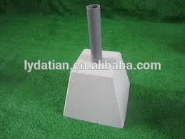concrete deck block for umbrella view concrete deck block for