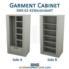 Wardrobe Cabinet With Shelves Times Two Spinning Storage Wardrobe Cabinet Storing Coats Supplies