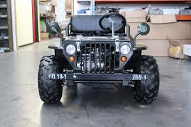 150cc Foxico Mini Willys Jeep Buggy 4 Wheeler Quad Atv Free