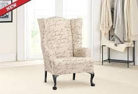 chair slipcovers canada slipcovers for wing chair slipcovers for wingback chairs canada