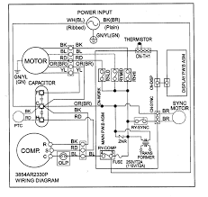 air conditioner capacitor wiring diagram wiring diagram and