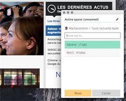 Spaces Un Gestionnaire De Fenêtres Spaces Un Gestionnaire De Fenêtres Pour Chrome Macgeneration