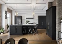 pictures of black stained kitchen cabinets grand black stained wood kitchen it s a made up layout and