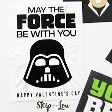 wars valentines day the best free printable wars valentines so cool skip to my lou