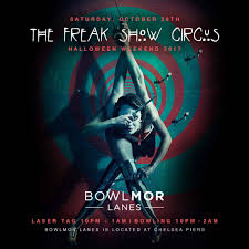 halloween city lake havasu bowlmor lanes makes plans for freakshow circus halloween arizona