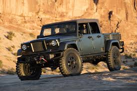 concept jeep truck jeep plans optional soft top on scrambler pickup